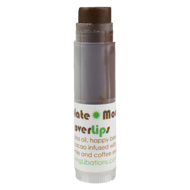 Tube of Living Libations Chocolate Mocha Lover Lips 5 Milliliters