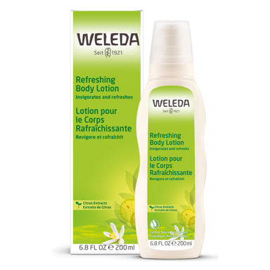 Bottle of Weleda Citrus Refreshing Body Lotion 6.8 Ounces