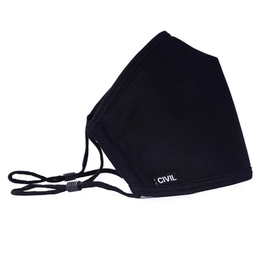 Civil 100% Polyester Triple Layer Reusable Civilian Face Mask