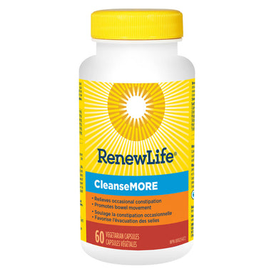 Bottle of CleanseMore 60 Vegetable Capsules