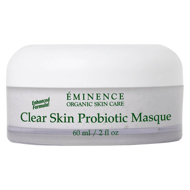 Jar of Eminence Clear Skin Probiotic Masque 60 Milliliters