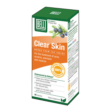 Box of Bell Clear Skin 90 Capsules