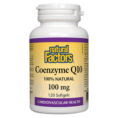 Bottle of Coenzyme Q10 100 mg 120 Softgels