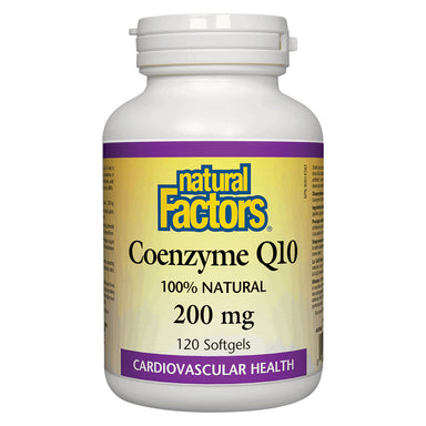 Bottle of Coenzyme Q10 200 mg 120 Softgels