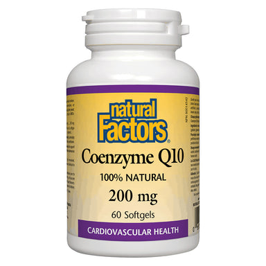 Bottle of Coenzyme Q10 200 mg 60 Softgels