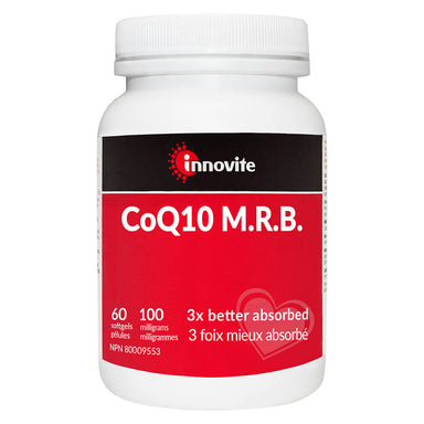 Bottle of CoQ10 M.R.B. 100 mg 60 Softgels
