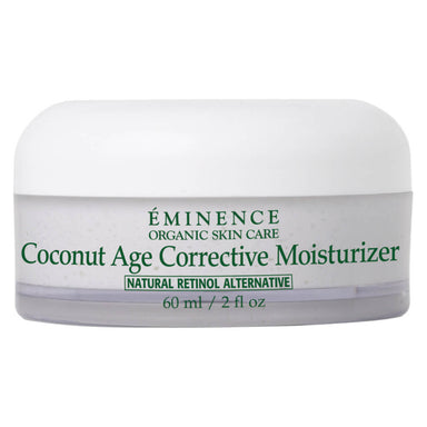 Bottle of Eminence Coconut Age Corrective Moisturizer 60 Milliliters