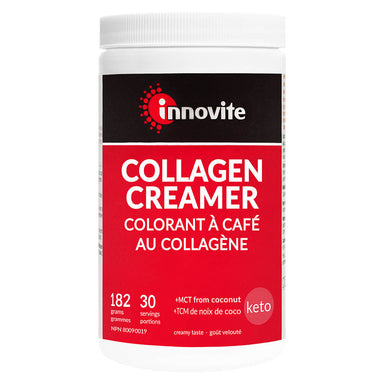 Bottle of Collagen Creamer 182 Grams