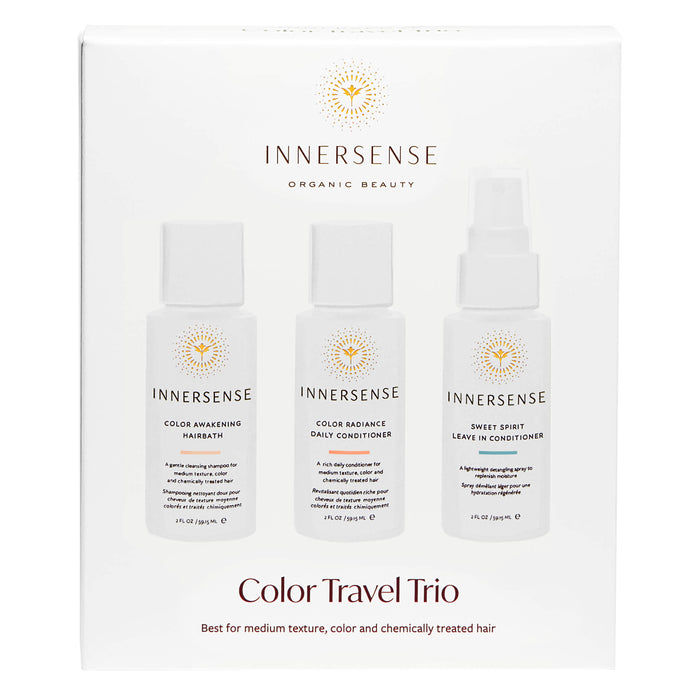 Box of Innersense Color Travel Trio