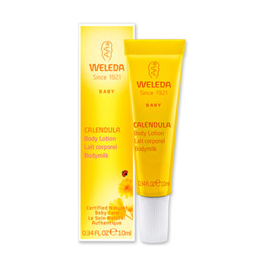 Bottle of Weleda Comforting Body Lotion - Calendula 0.34 Ounces