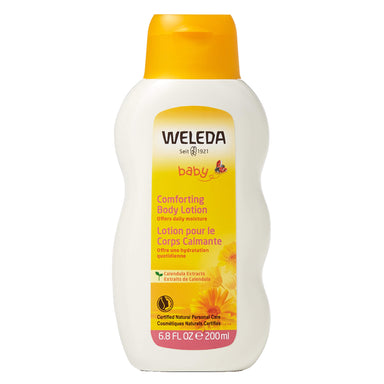 Bottle of Weleda Comforting Body Lotion - Calendula 6.8 Ounces