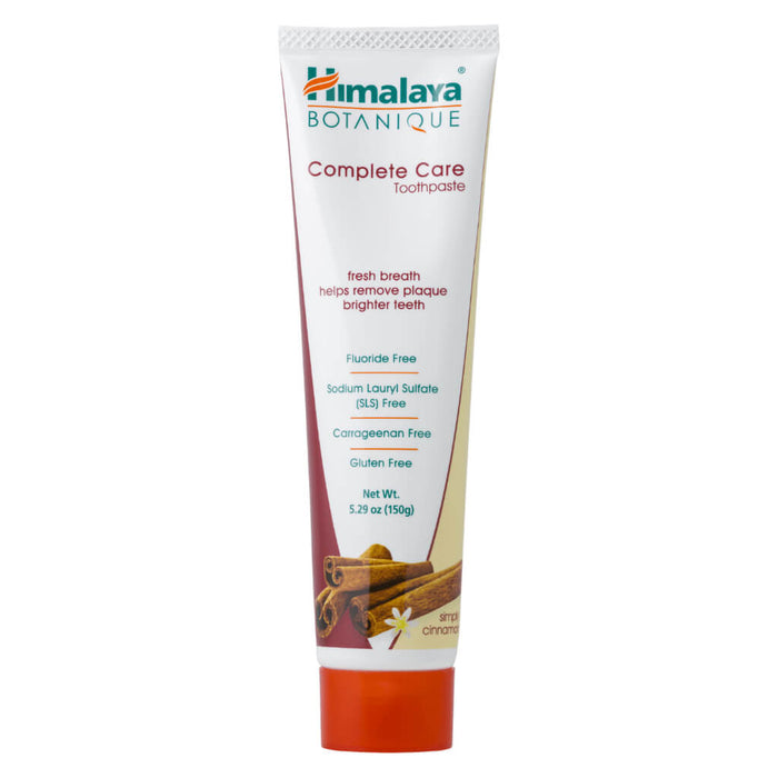 Tube of Complete Care Toothpaste Simply Cinnamon 150 Grams