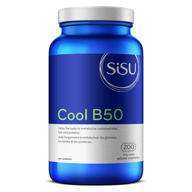 Bottle of Cool B50 200 Vegetable Capsules