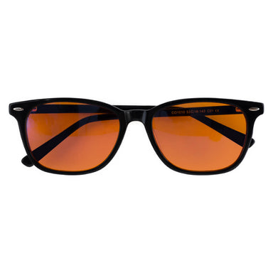 Orange Optics® Night Blue Light Blocking Glasses Black Frames