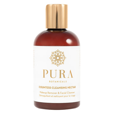 Bottle of Pura Botanicals Countess Cleansing Nectar 4 Ounces