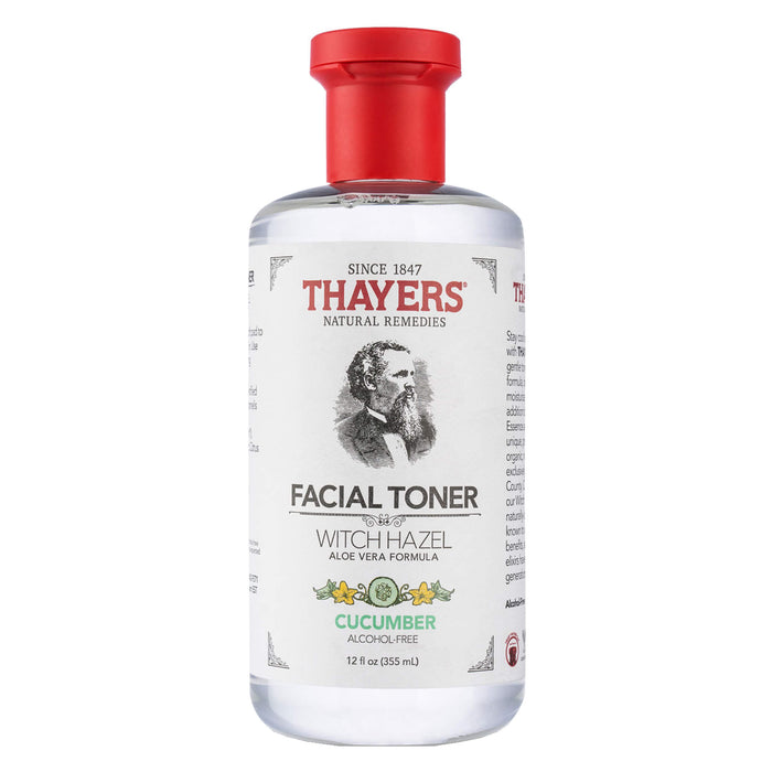 Bottle of Thayers Cucumber Facial Toner 12 Ounces