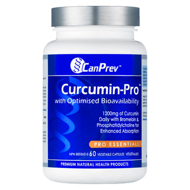Bottle of Curcumin Pro 60 Capsules