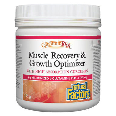 Bottle of CurcuminRich Muscle Recovery & Growth Optimizer 156 Grams