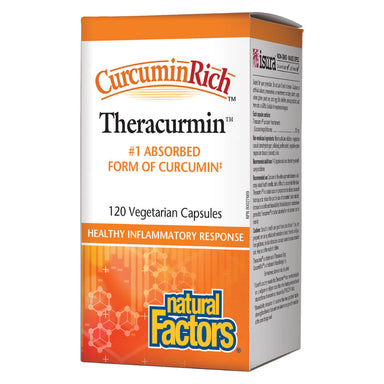 Box of CurcuminRich™ Theracumin 120 Vegetarian Capsules