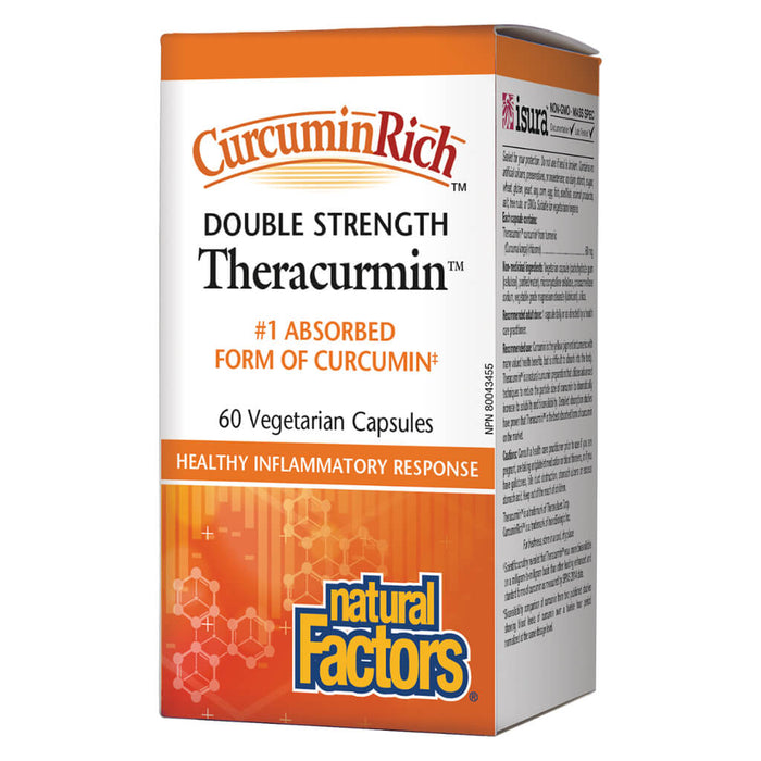 CurcuminRich™ Theracumin (Double Strength) 60 Vegetarian Capsules