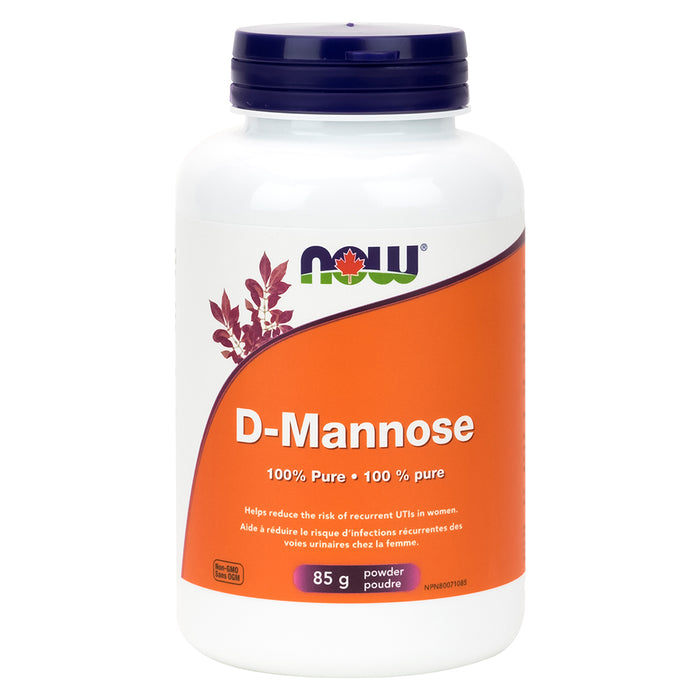 Bottle of D-Mannose Powder 85 Grams