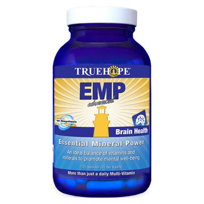 Bottle of EMP Advanced 120 Capsules
