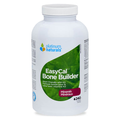 Bottle of EasyCal Bone Builder 240 Softgels