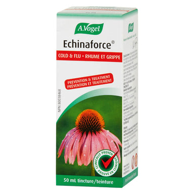 Box of A. Vogel Echinaforce Cold & Flu Tincture 50 mL