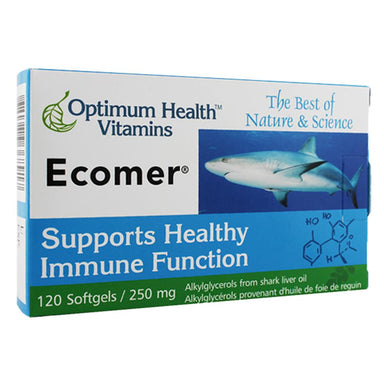 Box of Ecomer 120 Softgels