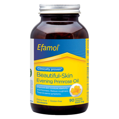 Bottle of Efamol 1000 mg 90 Softgels