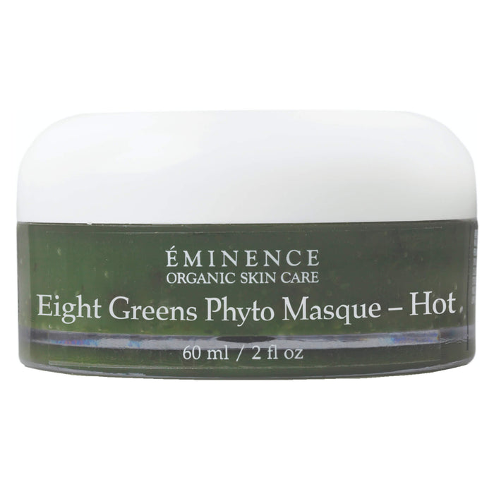 Jar of Eminence Eight Greens Phyto Masque - Hot 60 Milliliters