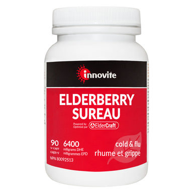 Bottle of Innovite Elderberry 90 V-Capsules