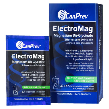 Box & Packets of ElectroMag Effervescent Drink Mix 150 mg