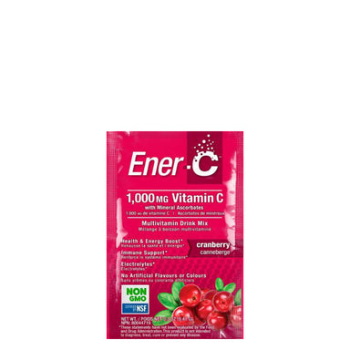 Packet of Ener-C Multivitamin Drink Mix (Cranberry) 30 Packets