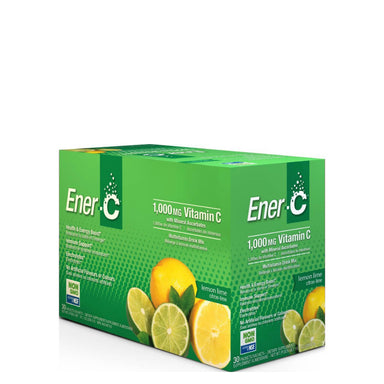 Box of Ener-C Multivitamin Drink Mix (Lemon Lime) 30 Packets