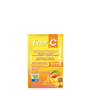 Packet of Ener-C Multivitamin Drink Mix (Peach Mango)