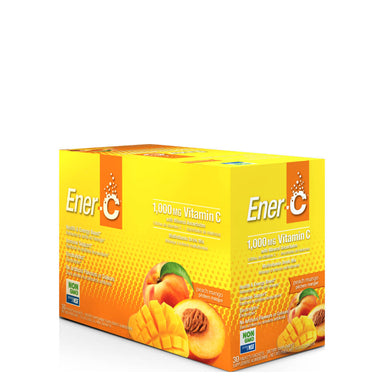 Box of Ener-C Multivitamin Drink Mix (Peach Mango) 30 Packets