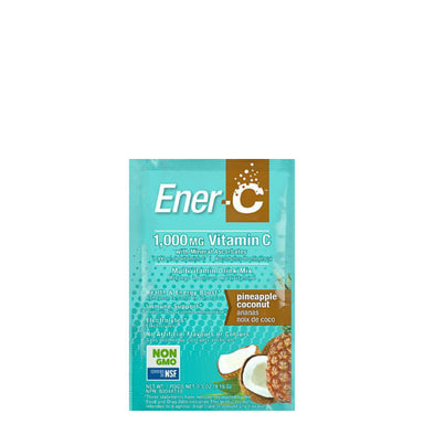 Packet of Ener-C Multivitamin Drink Mix (Pineapple Coconut)