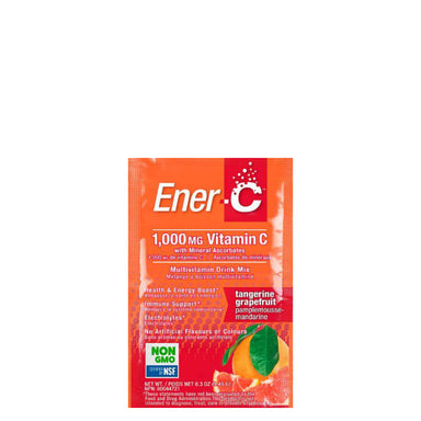 Packet of Ener-C Multivitamin Drink Mix (Tangerine Grapefruit)