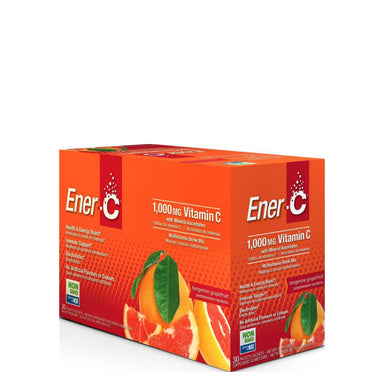Box of Ener-C Multivitamin Drink Mix (Tangerine Grapefruit) 30 Packets