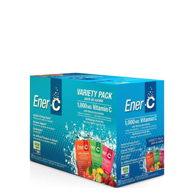 Box of Ener-C Multivitamin Drink Mix (Variety Pack) 30 Packets
