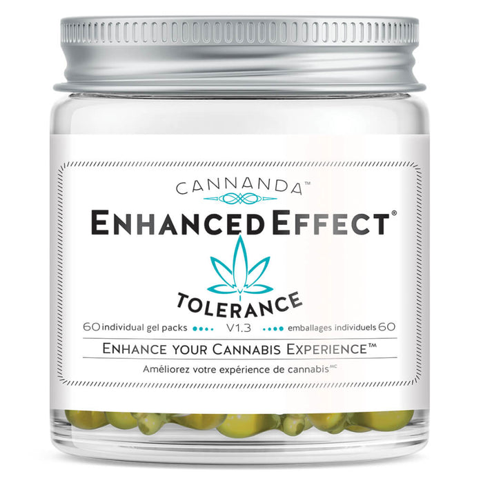 Jar of Enhanced Effect Tolerance Blend 60 Packets