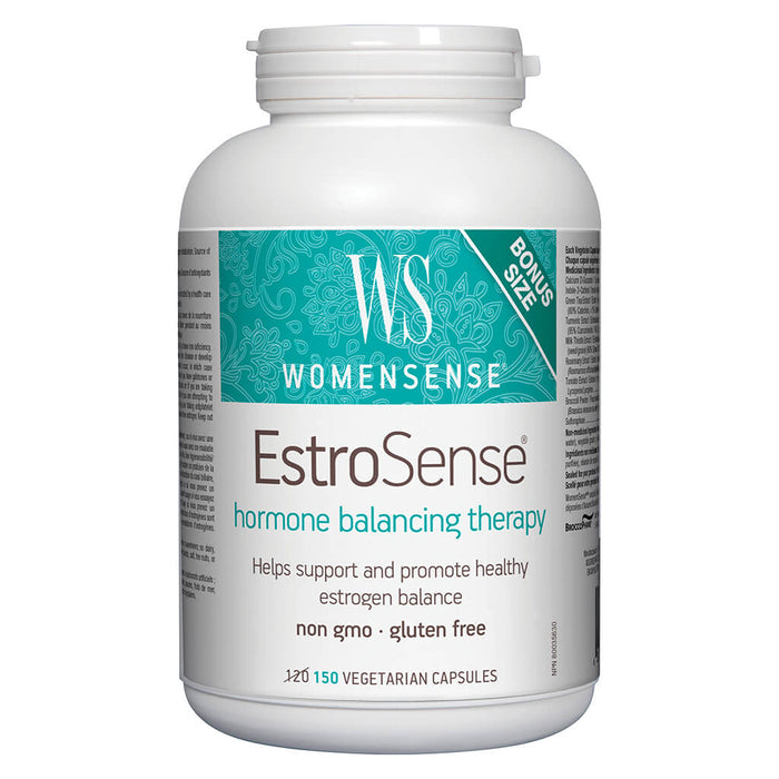 Bottle of EstroSense 150 Vegetarian Capsules