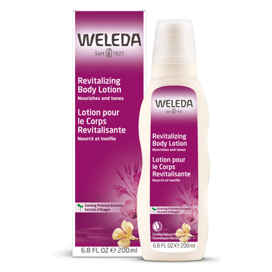 Bottle of Weleda Evening Primrose Revitalizing Body Lotion 6.8 Ounces