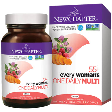 Container of Every Woman's One Daily Multivitaimin 55+