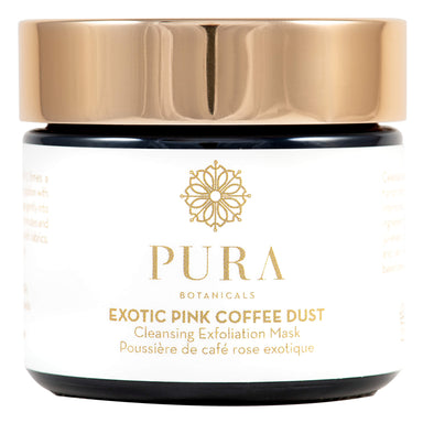 Jar of Pura Botanicals Exotic Pink Coffee Dust 1.4 Ounces