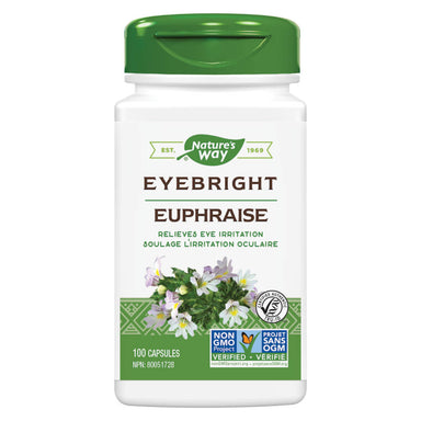 Bottle of Nature's Way Eyebright Herb 100 Capsules