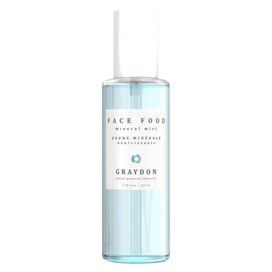 Bottle of Graydon Face Food Mineral Mist 100 Milliliters