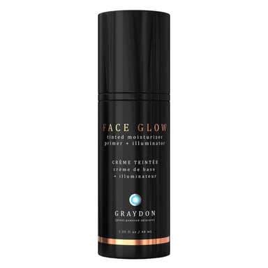 Bottle of Graydon Face Glow 40 Milliliters