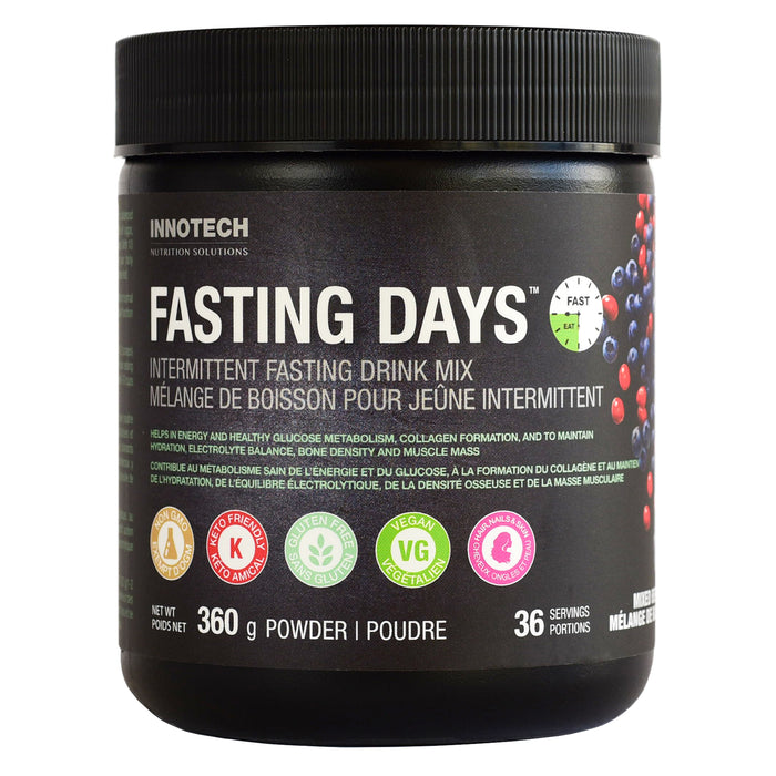 Innotech Fasting Days™ Intermittent Fasting Drink Mix Mixed Berry